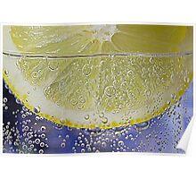 Lemon water Poster