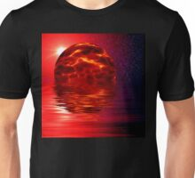 a view from space alien planet Unisex T-Shirt