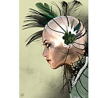 Lady Green Photographic Print