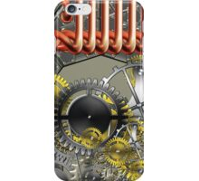 retro mechanism iPhone Case/Skin