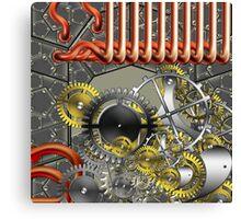 retro mechanism Canvas Print