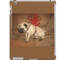Pug with a Bow iPad Case/Skin