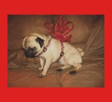 Pug with a Bow Kids Clothes