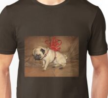 Pug with a Bow Unisex T-Shirt