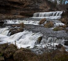 Willow River Falls I - WI by Daniel Rens
