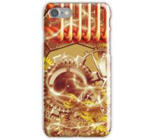 steampunk machine iPhone Case/Skin