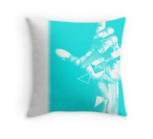 Change One - Male Hand Throw Pillow