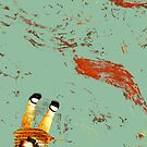 drowning, 2008 by Thelma Van Rensburg
