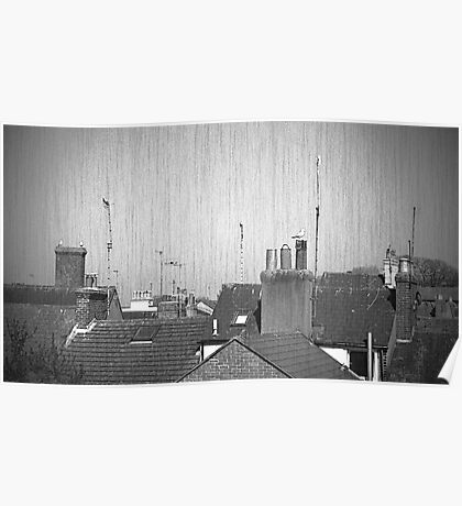 Weymouth Rooftops Poster