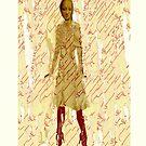 madonna in dress, 2009 by Thelma Van Rensburg