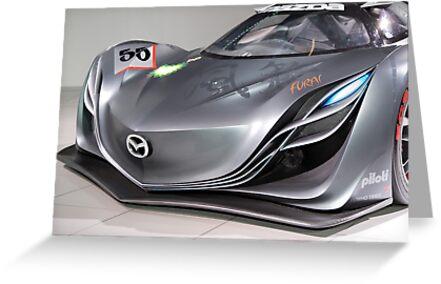 The Mazda Furai by John Gaffen