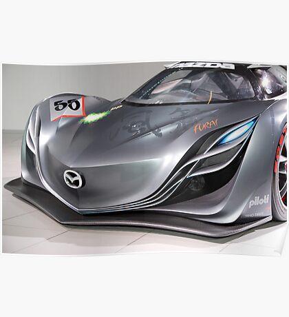 The Mazda Furai Poster
