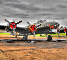 Sally B/|Memphis Belle Flying Fortress by Andy Jordan
