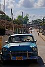 Street scene, Trinidad, Cuba by David Carton