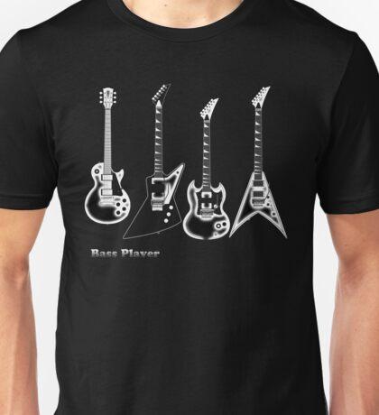 Bass Guitar, bass player Unisex T-Shirt