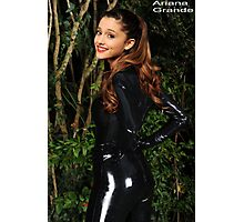 Ariana Grande Catwoman Costume Poster :3 Photographic Print
