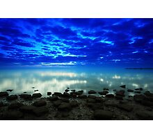 stillness of the bay Photographic Print