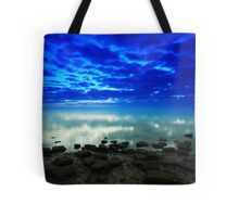 stillness of the bay Tote Bag