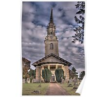 St Lawrence Church,Mereworth,Kent Poster