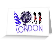 London Tour Greeting Card