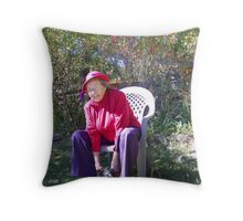 Society Gal Throw Pillow