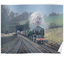 Tornado at Grosmont Poster