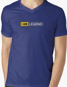 I AM LEGEND Mens V-Neck T-Shirt