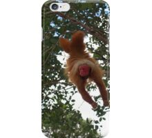 Cute Red Uakari iPhone Case/Skin