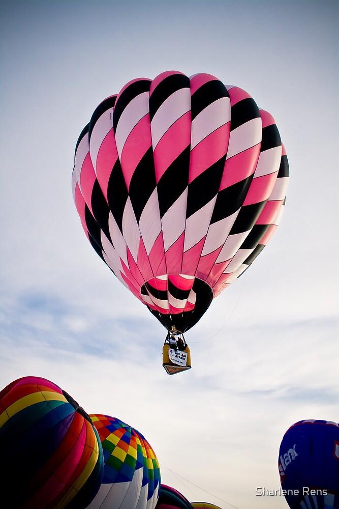 Big Pink Balloon by Sharlene Rens