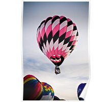 Big Pink Balloon Poster