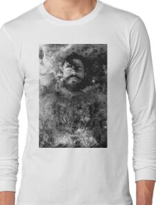 Tattoo Male Portrait Long Sleeve T-Shirt