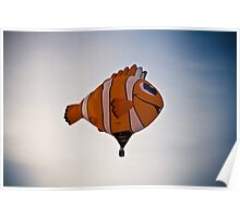 Floating Fish Poster
