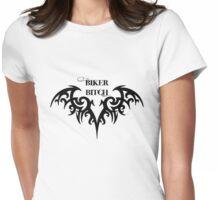 Biker Bitch Womens Fitted T-Shirt