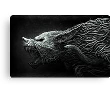 The Black Dragon Canvas Print