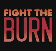 FIGHT THE BURN One Piece - Short Sleeve