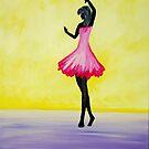 Dancing shadow by Catalina Moroianu