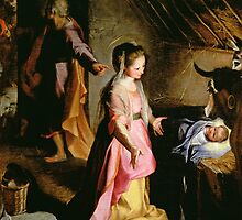 The Adoration of the Child, 1597 by Bridgeman Art Library