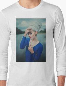 Women Portrait Long Sleeve T-Shirt