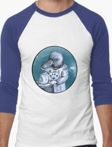 Platynaut Men's Baseball ¾ T-Shirt