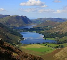 Buttermere from Haystacks by Linda Lyon