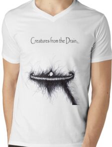 the creatures from the drain 15 Mens V-Neck T-Shirt