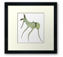 giddy-up Framed Print