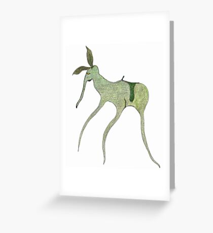 giddy-up Greeting Card