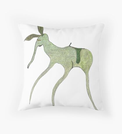 giddy-up Throw Pillow