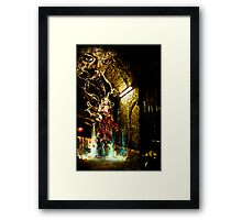 The return of the Black widow Framed Print