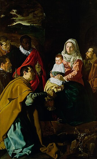 Adoration of the Kings, 1619 by Bridgeman Art Library