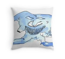 the curmudgeon Throw Pillow
