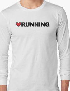 Love Running Long Sleeve T-Shirt