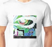 WATCHFUL EYES AND A MAJESTIC FROG Unisex T-Shirt