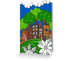 Big City Dreams Greeting Card